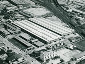 旧本社と大阪工場