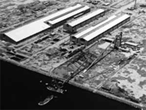 堺コンビナート工業地帯の堺工場
