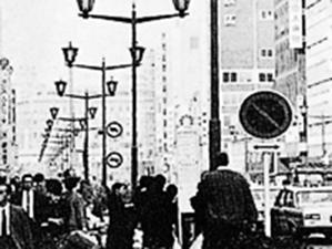 角パイプ(ガス灯タイプの街路灯・交通信号機)