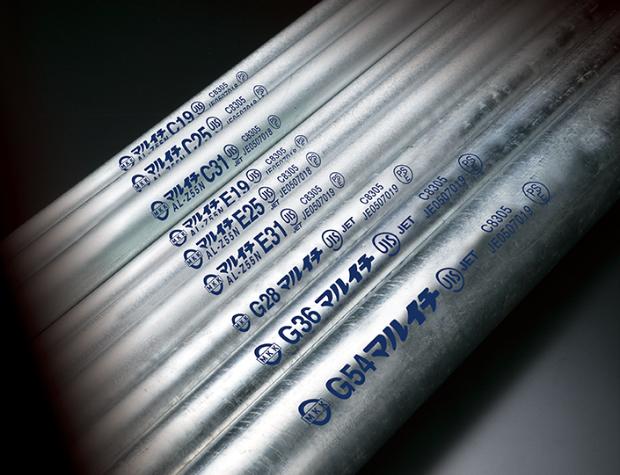 電線管および電線管付属品